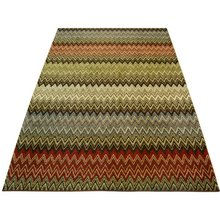 Spirit Zigzag Rug - 120x170cm - Multicoloured