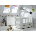more details on Tutti Bambini Marie 2 Piece Room Set - White.