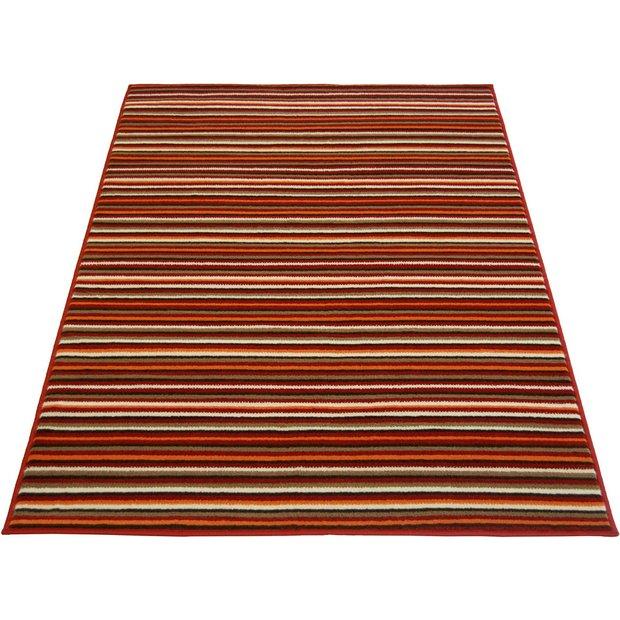 Runner Rugs Homebase: Buy Maestro Fine Stripe Rug 160x230cm