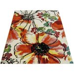 Eternity Watercolour Floral Rug 120x170cm - Pink
