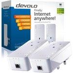more details on Devolo 600Mbps dLAN Powerline 650+ Kit.