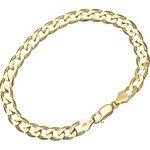 more details on 9ct Gold 7.25 inch Curb Bracelet.