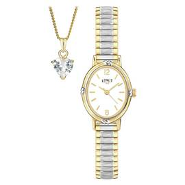 Limit Ladies' 'Special Mum' Necklace and Watch Set
