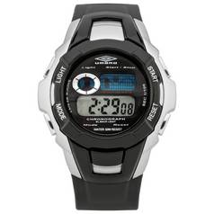 Umbro Black Plastic Strap Chronograph Watch