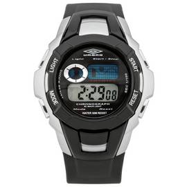 Umbro Chronograph Black Plastic Strap Watch