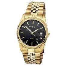 Sekonda Men's Gold Plated Bracelet Watch