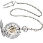 more details on Sekonda Classique Men's Mechanical Skeleton Pocket Watch.