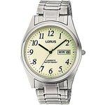 more details on Lorus Men's Silver Lumibrite Dial Watch.