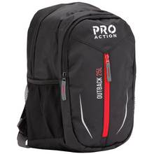 ProAction Outback 25L Backpack - Black