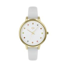 Spirit Ladies Lilac Leather-Effect Strap Watch