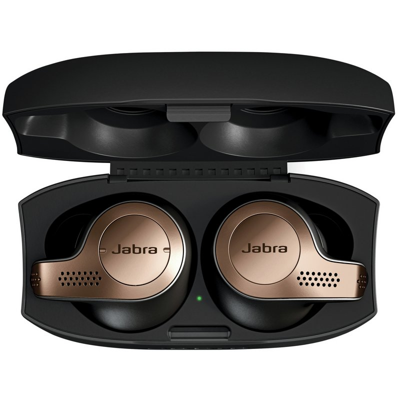 Jabra Elite 65t True Wireless Headphones - Copper/Black from Argos