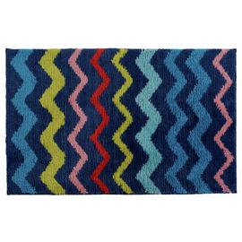 Argos Home Chevron Bath Mat - Multi