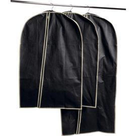 Simple Value Black Set of 3 Suit Carriers