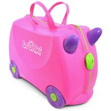 Trunki Trixie Ride-On Suitcase - Pink
