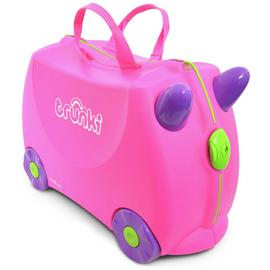 Trunki Trixie 4 Wheel Hard Ride On Suitcase - Pink