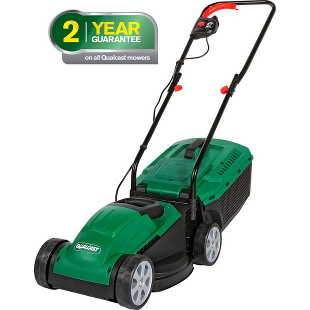 Buy Qualcast Corded Rotary Lawnmower 1200w At Argos Co