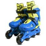 more details on Zinc Inline Roller Skates 13-3 - Blue.