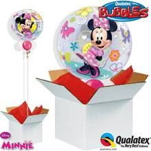 Disney Minnie Mouse Bow-Tique Bubble Balloon in a Box