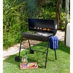 more details on Charcoal Oil Drum BBQ with Cover.