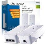 more details on Devolo 600Mbps dLAN Powerline 650+ Triple Kit.
