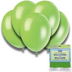 more details on Neon Lime 12 Inch Premium Balloons - Pack of 50.