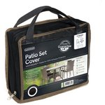 more details on Gardman 4 Seater Round Patio Cover Set - Grey.