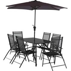 Argos Home Milan 6 Seater Metal Patio Set