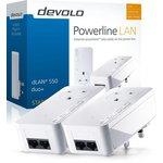 more details on Devolo 500Mbps dLAN Powerline 550 Duo Plus Kit.