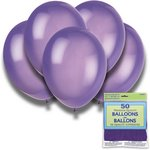 more details on Midnight Purple 12 Inch Premium Balloons - Pack of 50.