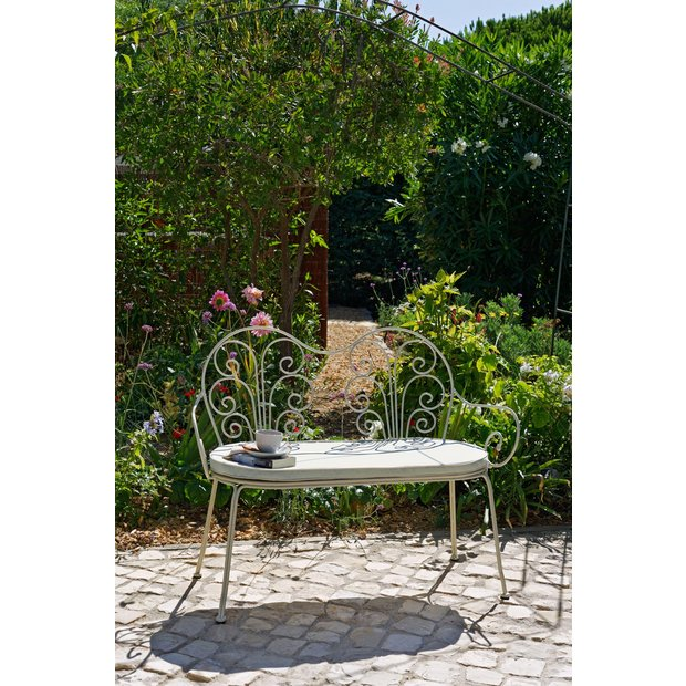 Pleasing Buy Garden Benches And Arbours At Argoscouk  Your Online Shop  With Lovable  More Details On Heart Of House Jasmin Ft Metal Garden Bench With  Cushion With Cute Fairy Garden Furniture Uk Also Aurora Lighting Welwyn Garden City In Addition Gardening Jobs Norwich And English Garden Images As Well As Little Tikes Activity Garden Reviews Additionally Trentham Gardens Map From Argoscouk With   Lovable Buy Garden Benches And Arbours At Argoscouk  Your Online Shop  With Cute  More Details On Heart Of House Jasmin Ft Metal Garden Bench With  Cushion And Pleasing Fairy Garden Furniture Uk Also Aurora Lighting Welwyn Garden City In Addition Gardening Jobs Norwich From Argoscouk