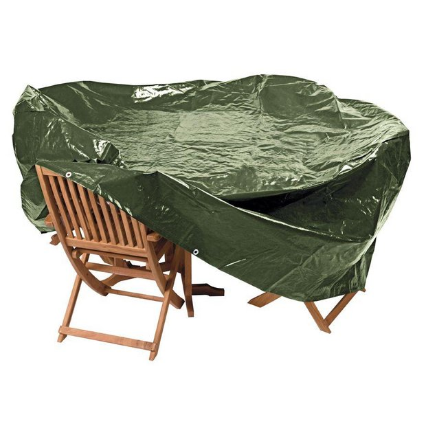 Buy Home Heavy Duty Extra Large Oval Patio Set Cover At