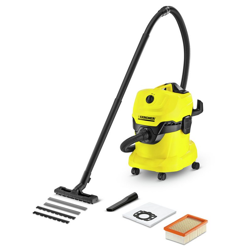 Karcher WD 4 Wet and Dry Vacuum Cleaner from Argos