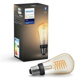 Philips Hue ST64 White Smart Filament Bulb with Bluetooth/t