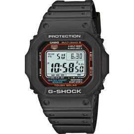 Casio G-Shock Men's Black Resin Strap Solar Powered Watch