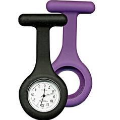 Constant Nurses Purple And Black Fob Watch