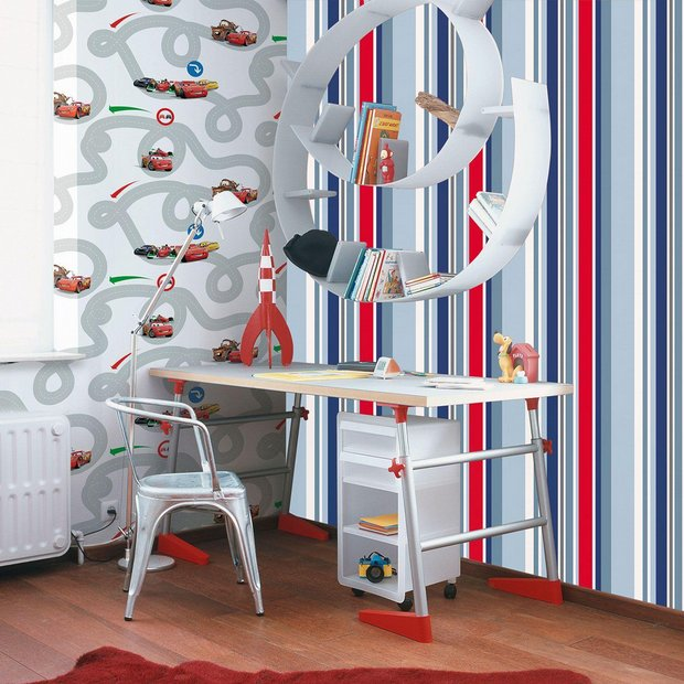 Buy Graham Brown Wallpaper Kids Long Island Stripe