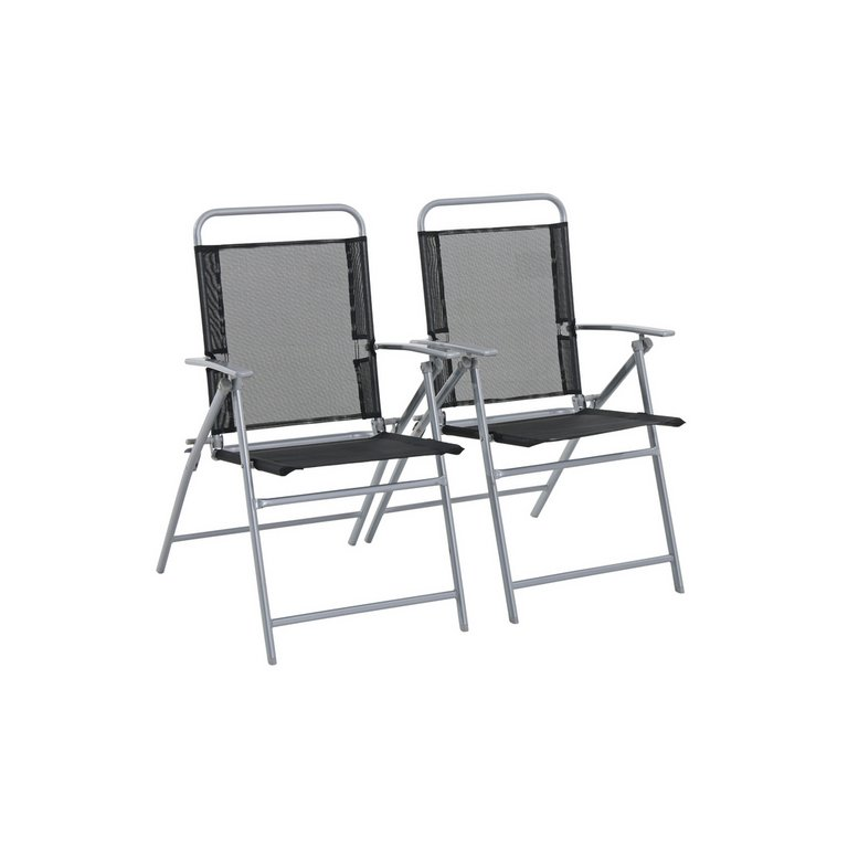 Garden Furniture Argos buy home steel folding chairs - set of 2 at argos.co.uk - your