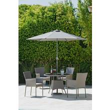 Collection Havana 4 Seater Rattan Effect Patio Set