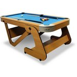 more details on Riley 6ft 6 inch Folding Pool Table.