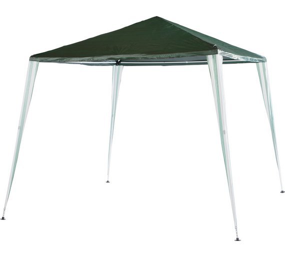 HOME Square Large 2.7m x 2.7m Garden Gazebo  sc 1 st  Argos & Gazebos marquees and awnings | Argos