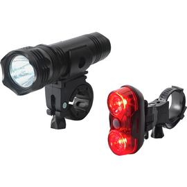Rolson High Powered Front and Rear LED Bike Light Set