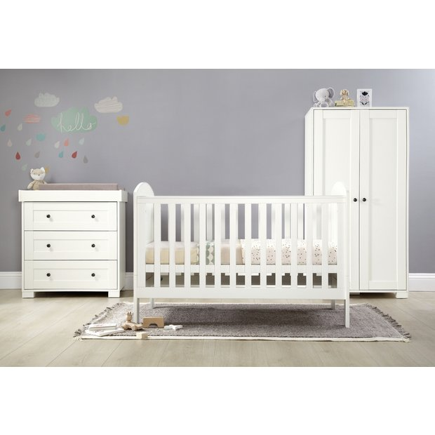 Buy Mamas Amp Papas Harrow 3 Piece Furniture Set White At