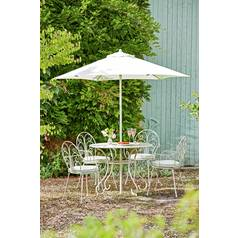 Argos Home Jasmin 4 Seater Metal Patio Set