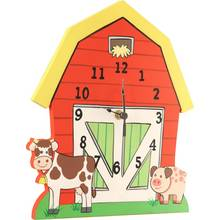Fantasy Fields Happy Farm Wall Clock