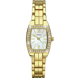 Sekonda Ladies' Stone Set Case Bracelet Watch