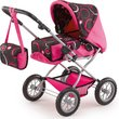 more details on Combi Grande Pink and Chocolate Swirl Pram.