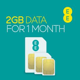 EE 2GB Pay As You Go Data SIM