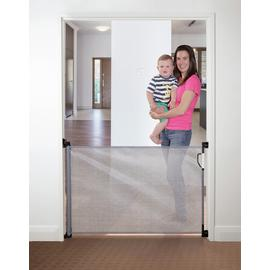 Dreambaby Retractable Gate Fits Gaps Up To 140Cms - Grey
