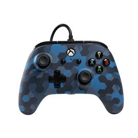 PowerA Wired Xbox One Controller  - Stealth Blue Camo