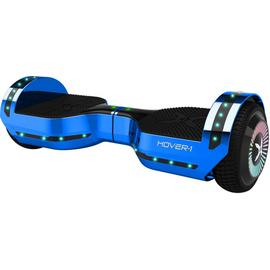 Hover-1 Chrome Metallic Blue Bluetooth Speaker Hoverboard